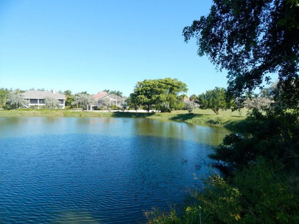 Sanibel Island Golf Course: Reclaimed Water Pond